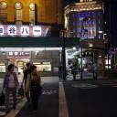 浅草 神谷バー。デンキブランというカクテルがおいしい。