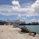 久米島の港