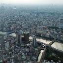 東京スカイツリーから見下ろす。