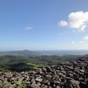 宇江城(うえぐすく)城跡は沖縄で最も高い場所にある城跡だそうです。