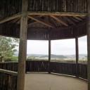 勧耕台 沖縄本島南部を見渡せる。