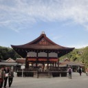 賀茂御祖神社 森を抜けると空が開ける。