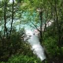 この水はどこから流れているんだろう。