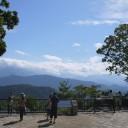 山頂 富士方面