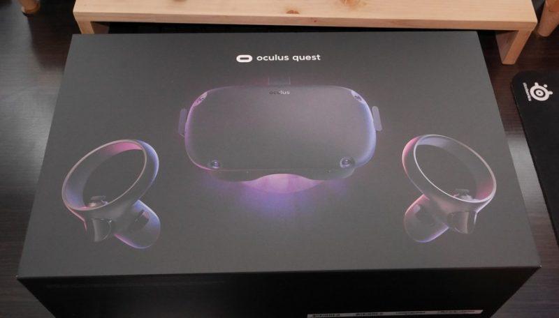 Oculus Quest 箱
